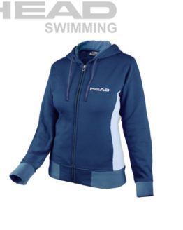 HEAD SWIMMING TEAM FLEECE ZIPPER LADY
